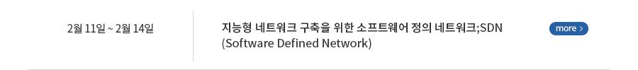 지능형 네트워크 구축을 위한 소프트웨어 정의 네트워크;SDN(Software Defined Network)
