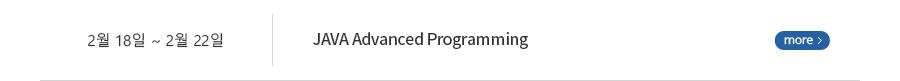 JAVA advanced Programming